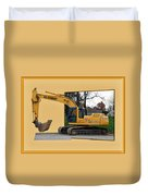 Construction Equipment 01 Duvet Cover