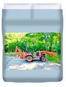 Construction Machinery Equipment 1 Duvet Cover
