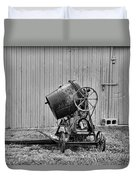 Construction - Vintage Cement Mixer Duvet Cover