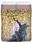 Contemplation-color Variaton Duvet Cover