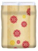 Contemporary Dandelions 1 Part 1 Of 3 Duvet Cover
