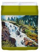 Continental Falls Duvet Cover