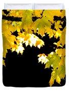 Contrast Of Autumn, Quincy California Duvet Cover