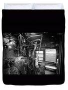 Controls Of Steam Locomotive No. 611 C. 1950 Duvet Cover
