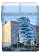 Convention Centre Dublin Republic Of Ireland Duvet Cover