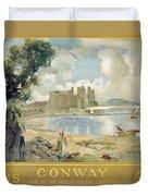 Conway Castle Duvet Cover