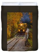 Conway Scenic Railway Duvet Cover