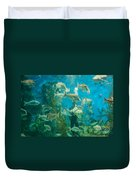 Cool Aquarium Duvet Cover by Ray Warren