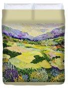 Cool Grass Duvet Cover
