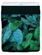 Cool Leafy Green Duvet Cover