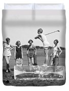 Cool Tee Time Duvet Cover