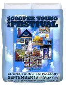Cooper Young Festival Poster 2008 Duvet Cover