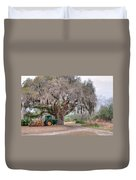 Coosaw Cross Roads With Live Oak Duvet Cover