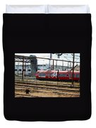 Copenhagen Commuter Train Duvet Cover