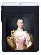 Copley's Jane Browne -- Mrs. Samuel Livermore Duvet Cover