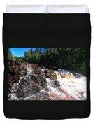 Copper Falls Duvet Cover