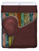 Copper Man Duvet Cover