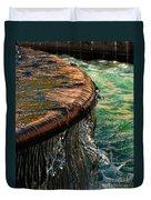 Copper Spill Duvet Cover