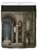 Coptic Church, Cairo, Egypt, 1906 Duvet Cover by Getty Research Institute