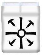Coptic Cross Duvet Cover