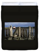 Coquille Lighthouse Oregon 3 Duvet Cover