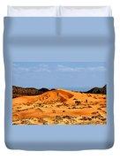 Coral Pink Sand Dunes Utah Duvet Cover