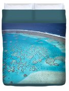 Coral Reef Capricornia Cays Np Duvet Cover