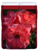 Coral Roses 2013 Duvet Cover