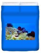 Corals Underwater Duvet Cover