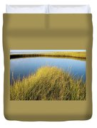 Cordgrass And Marsh, Southern Duvet Cover