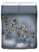 Corella Flock Duvet Cover