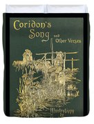 Coridons Song And Other Verses Duvet Cover