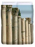 Corinthian Columns In Turkey Duvet Cover