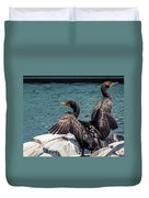 Cormorants Duvet Cover