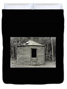 Corn Crib In Monochrome Duvet Cover