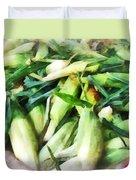 Corn For Sale Duvet Cover