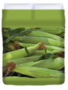 Corn New Jersey Grown  Duvet Cover
