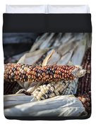 Corn Of Many Colors Duvet Cover by Caitlyn  Grasso