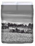 Corn Picker November 2013 Duvet Cover