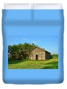 Corncrib In Afternoon Light Duvet Cover
