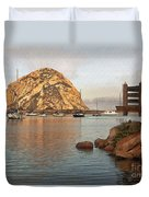 Corner Harbor Duvet Cover