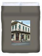 Corner Of St. Peter And Dauphine Duvet Cover