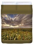 Cornfield Sunset  Duvet Cover