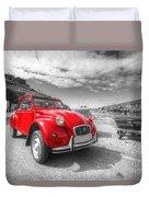 Cornish 2cv Duvet Cover