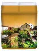 Cornish Reflections  Duvet Cover