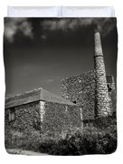 Cornish Tin Mine. Duvet Cover