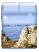 Cornwall - Land's End Duvet Cover