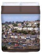Cornwall - Mevagissey Duvet Cover
