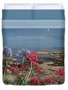 Cornwall Newlyn Coast One Duvet Cover