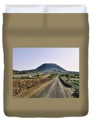 Corona Volcano On Lanzarote Duvet Cover
